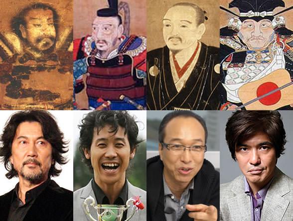 映画『清須会議』のキャスト比較(柴田勝家、豊臣秀吉、丹羽長秀、池田恒興)