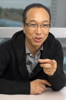 小日向文世の写真(映画『清須会議』の丹羽長秀役)