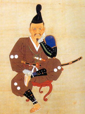 徳川家康の「しかみ像」(『徳川家康三方ヶ原戦役画像』)