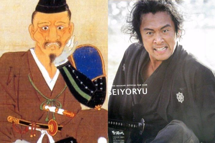 徳川家康の肖像画と内野聖陽の比較(『真田丸』キャスト)