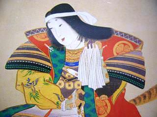 小松姫の肖像画(拡大画像)