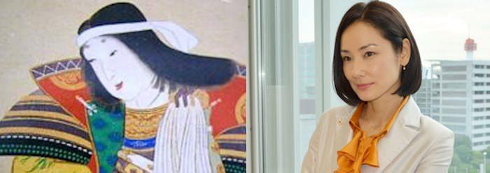 小松姫の肖像画と大泉洋の比較(『真田丸』キャスト)