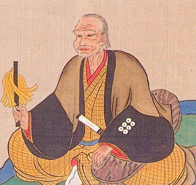 真田昌幸の肖像画(拡大画像)
