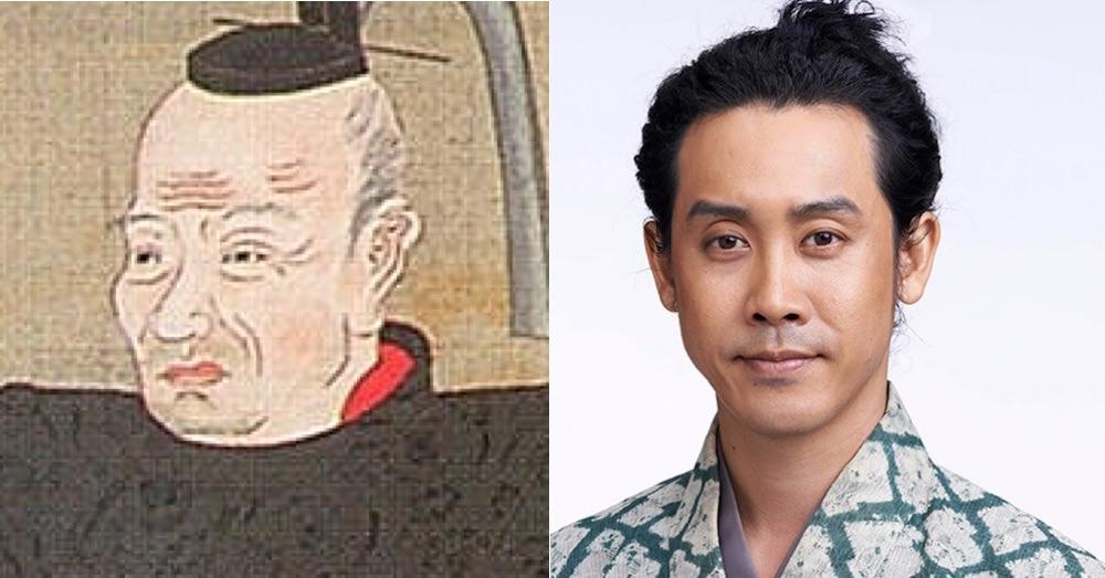 真田信幸の肖像画と大泉洋の比較(『真田丸』キャスト)の拡大画像