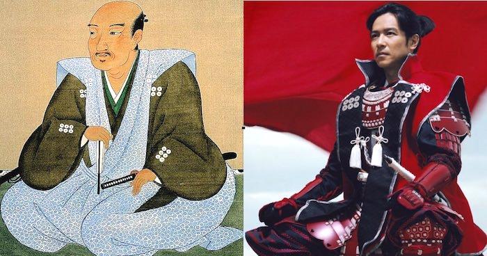 真田信繁の肖像画と堺雅人の比較(『真田丸』キャスト)