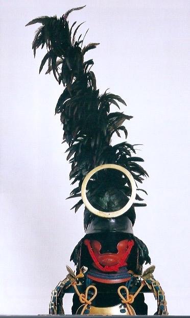 戦国時代の兜『鳥毛付頭形兜(とりげつきずなりかぶと)』