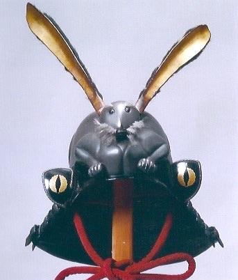 戦国時代の兜『兎耳形兜(うさぎみみなりかぶと)』