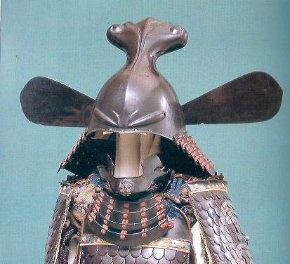 竹中半兵衛の兜といわれる『唐冠形兜(とうかんなりかぶと)』