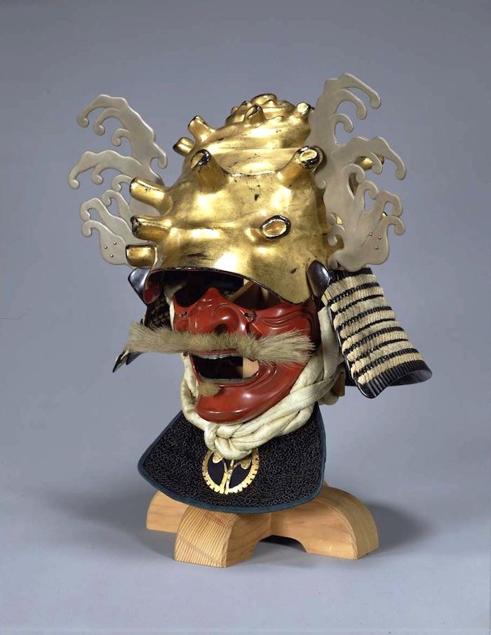 戦国時代の兜『栄螺形兜(さざえなりかぶと)』の拡大画像