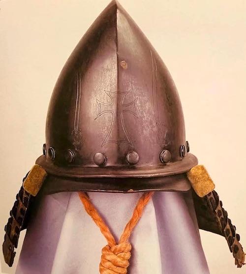 戦国時代の兜『鉄錆地南蛮兜』