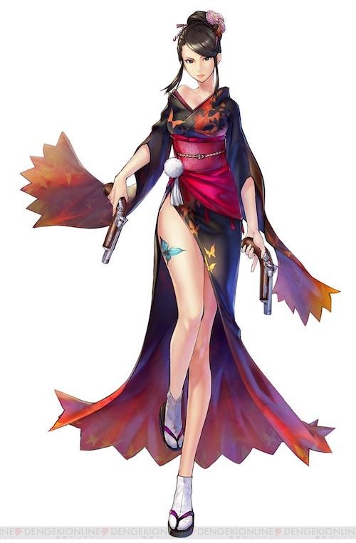 濃姫(『戦国BASARA』より)