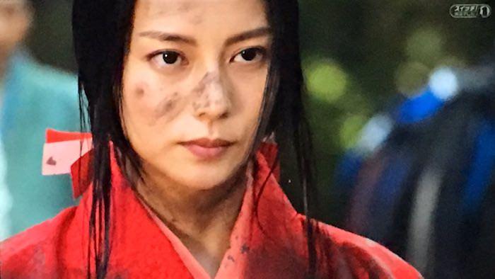 濃姫を演じた柴咲コウ(『信長協奏曲』より)