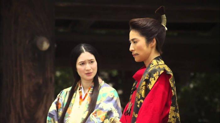 濃姫を演じた小雪(『女信長』より)