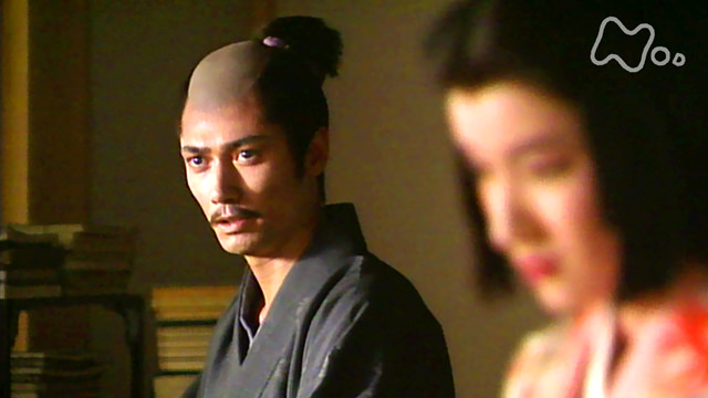 マイケル富岡演じる明智光秀(『信長 KING OF ZIPANGU』より)