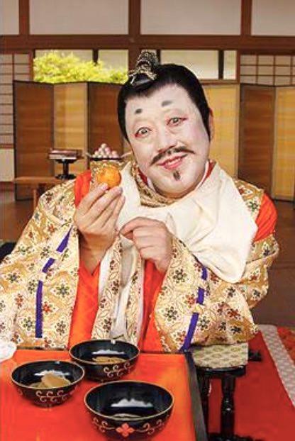 六平直政演じる今川義元(『太閤記~天下を獲った男・秀吉』より)