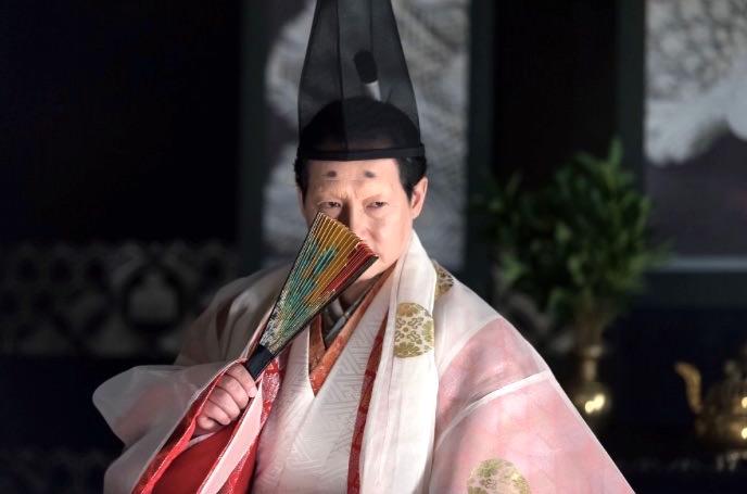 春風亭昇太演じる今川義元(『おんな城主 井伊直虎』より)