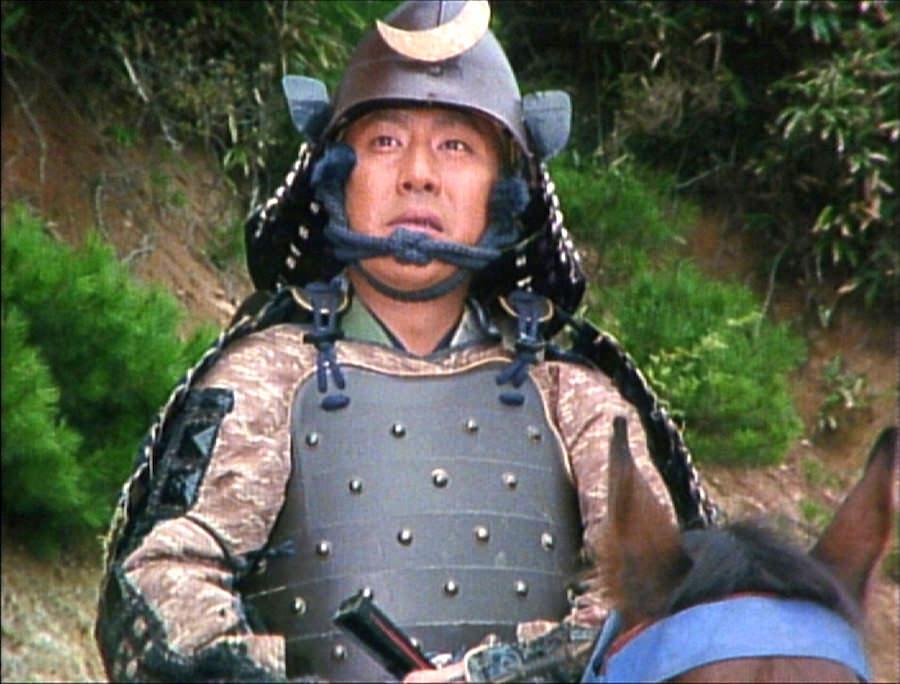 中村勘九郎(のちの18代目勘三郎)演じる豊臣秀吉(『豊臣秀吉天下を獲る!』より)の拡大画像