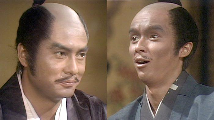 火野正平演じる豊臣秀吉(『国盗り物語』より)
