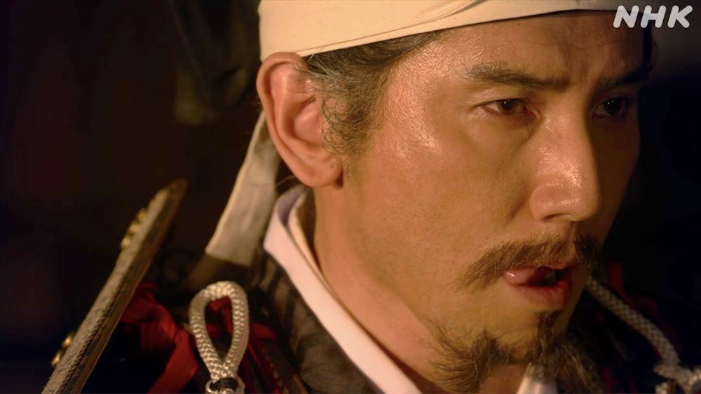名言「マムシ……?誰が?」(斎藤道三、『麒麟がくる』より)の拡大画像
