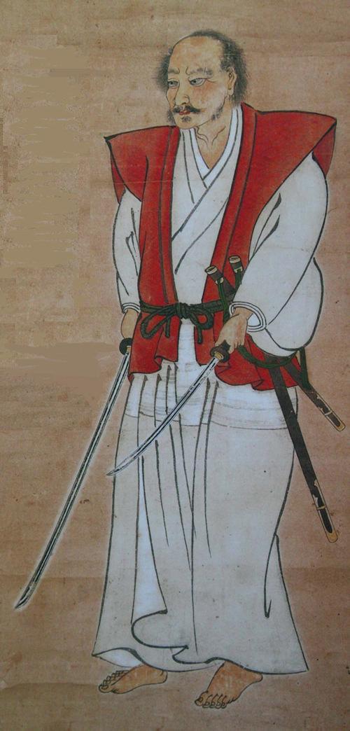 宮本武蔵の肖像画