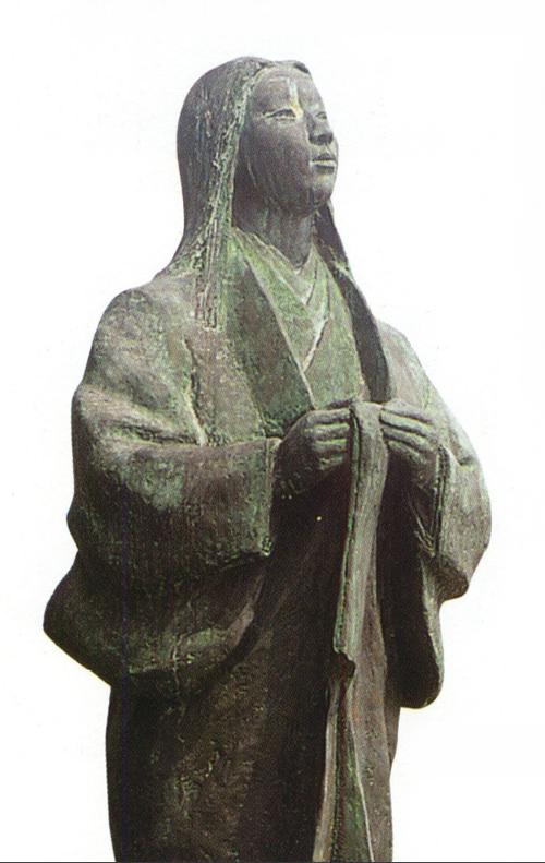 濃姫像(清洲城)