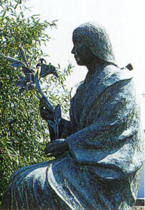 細川ガラシャの銅像