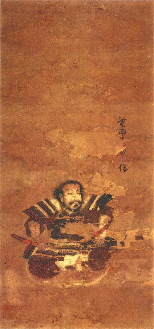 柴田勝家の肖像画