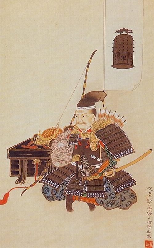 片倉小十郎の肖像画