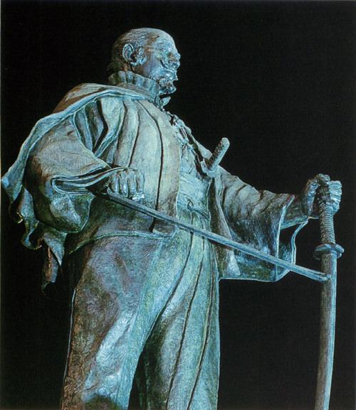 大友宗麟の銅像