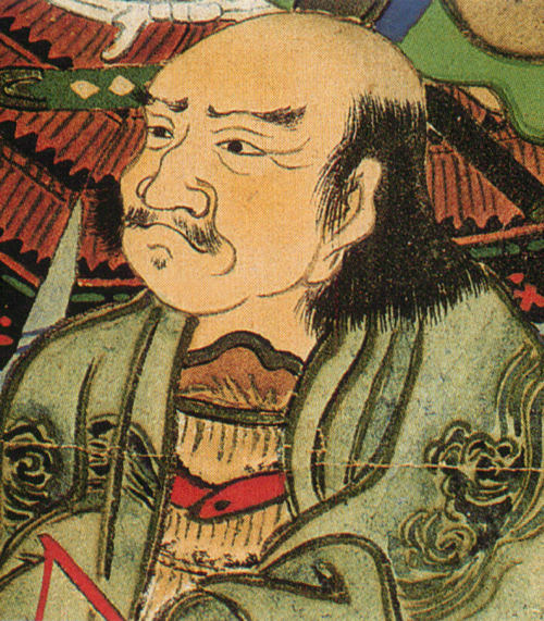 甘利虎泰の肖像画