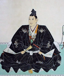 宇喜多秀家の肖像画