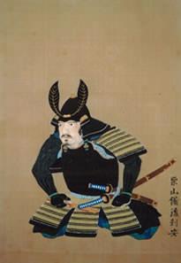 大槻玄沢の肖像画(小田百谷 画、磐水 筆)