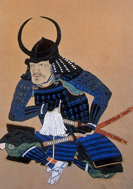 母里友信の肖像画(黒田二十四騎/黒田八虎のひとり)