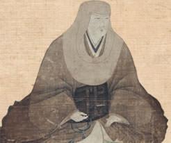 晩年の大槻磐渓の写真(中央)。左は大槻如電(磐渓の次男)、右は大槻文彦(磐渓の三男)。1874年1月撮影